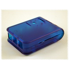 Enclosure Box Case for Raspberry Pi2 B (1593HAMPI2TBU) RPI2 Blue