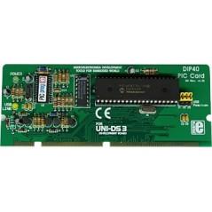 UNI-DS3 40 pin PIC card option (MIKROELEKTRONIKA)