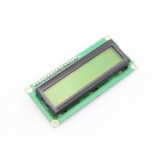 LCD 16x2 Character Display Module - Yellow Backlight (ER-DLC01602B)