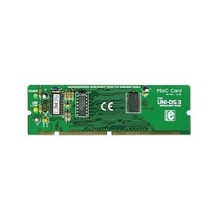 UNI-DS3 48 pin PSoC card option (MIKROELEKTRONIKA)