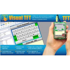 Visual TFT Tool Software (MIKROELEKTRONIKA)