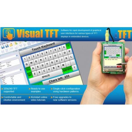Visual TFT Tool Software (MIKROELEKTRONIKA)