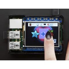 Adafruit PiTFT 2.4 HAT Mini Kit - 320x240 TFT Touchscreen (Adafruit 2455)