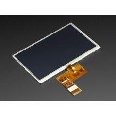 "7.0"" 40-pin TFT Display - 800x480 with Touchscreen (Adafruit 2354)"