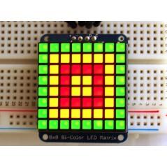 Adafruit Bicolor LED Square Pixel Matrix with I2C Backpack (Adafruit 902)
