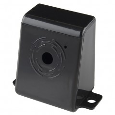Raspberry Pi Camera Case - Black Plastic (Sparkfun PRT-12846)