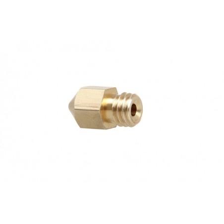 Brass M6 nozzle for MK8 Extruder 0.2mm  (ER-P3D0103MK)