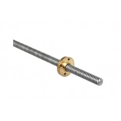 3D Printer Part THSL-300-8D Lead Screw Rod for 3D Printer (ER-P3D0115TL)
