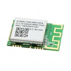 ATWINC1500-MR210PA (Atmel) RF TRANSCEIVER MODULE, 2.484GHZ RF System on a Chip - SoC WINC1500A