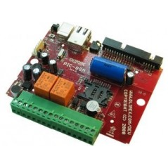 PIC-GSM  (Olimex) DEVELOPMENT BOARD WITH GSM MODULE AND PIC18F67J50 MICROCONTROLLER