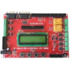 STR730-STK (Olimex) DEVELOPMENT BOARD FOR STR730 ARM7TDMI-S MICROCONTROLLER