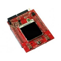 MSP430-4619LCD (Olimex) MPS430FG4619 STARTERKIT DEVELOPMENT BOARD WITH COLOR GRAPHICS LCD, ACCELEROMETER, SD/MMC CARD, JOYSTICK