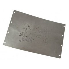 SD-240-Stencil (Olimex) CHEMICAL ETCHED STENCIL ON STAINLESS STEEL
