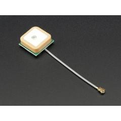 Passive GPS Antenna uFL - 15mm x 15mm 1 dBi gain (Adafruit 2461)