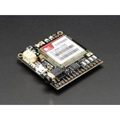 Adafruit FONA 808 - Mini Cellular GSM + GPS Breakout (Adafruit 2542) SIM808