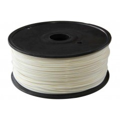 3D Printer 1.75mm PLA (Polylactide) FILAMENT REEL- White 1Kg (ER-P3D3011White)