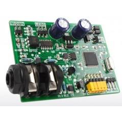 BassBoy monophonic digital MIDI controlled bass synthesizer (MIKROELEKTRONIKA)