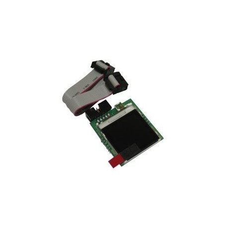 MOD-LCD6610 (Olimex) TFT LCD 128X128 PIXEL, 12-BIT COLOR WITH BACKLIGHT  NOKIA6610