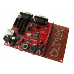 SAM7-P64 (Olimex) DEVELOPMENT BOARD FOR AT91SAM7S64 ARM7TDMI-S MICROCONTROLLER