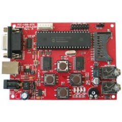 PIC-USB-STK (Olimex) PIC USB STARTERKIT PROTOTYPE BOARD FOR PIC18F4550 MICROCONTROLLER WITH USB