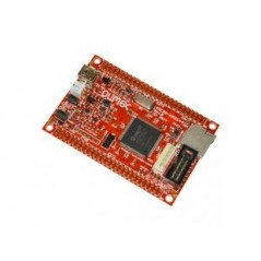 PIC32-HMZ144 (Olimex) DEVELOPMENT BOARD WITH PIC32MZ2048ECG RUNNING AT 200MHZ AND WITH 2MB OF FLASH AND 512KB SRAM