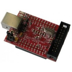 SAM7-H64 (Olimex) HEADER DEVELOPMENT BOARD FOR AT91SAM7S64 ARM7TDMI-S MICROCONTROLLER