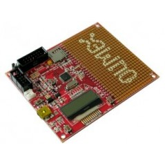 MSP430-5510STK (Olimex) MPS430F5510 STARTERKIT DEVELOPMENT BOARD WITH LCD, UEXT, USB, SD-CARD, BATTERY CHARGER