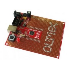 AVR-USB-162 (Olimex) AVR USB AT90USB162 MICROCONTROLLER PROTOTYPE BOARD WITH USB AND ICSP