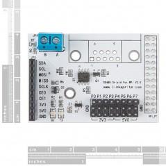 RS485 Shield V2 - Raspberry Pi (Sparkfun DEV-13000)