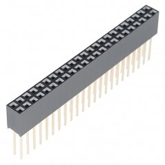 Stackable Header - 2x23 Pin Female (Sparkfun PRT-12790) Beaglebone Black headers