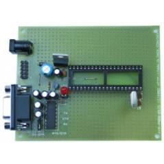 AVR-P40-8515-8MHz (Olimex) AVR MICROCONTROLLER PROTOTYPE BOARD WITH STKXXX COMPATIBLE 10 PIN ICSP