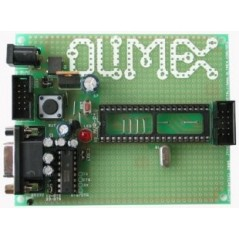 AVR-P40-8535-8MHz (Olimex) AVR MICROCONTROLLER PROTOTYPE BOARD WITH STKXXX COMPATIBLE 10 PIN ICSP