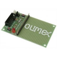 MSP430-P2131 (Olimex) MPS430F2131 HEADER BOARD