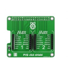 Pi 2 click SHIELD (MIKROE-1879) for Raspberry Pi models 2 B and B+