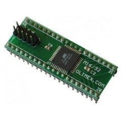 AVR-M16 (Olimex) AT MEGA16 HEADER BOARD WITH JTAG CONNECTOR