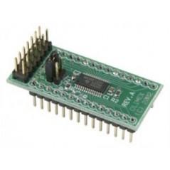MSP430-H1232 (Olimex) MPS430F1232 HEADER BOARD
