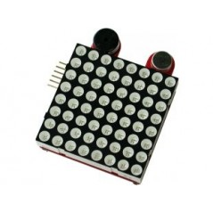 MSP430-LED8x8-B00STERPACK (Olimex) MSP430 LAUNCHPAD MATRIX 8X8 LED MATRIX