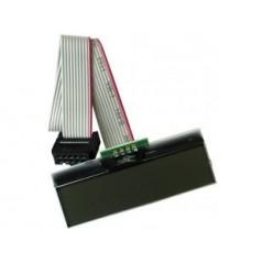 MOD-LCD-1x9 (Olimex) LCD 1 ROW X 9 CHARACTERS, UEXT I2C CONTROL