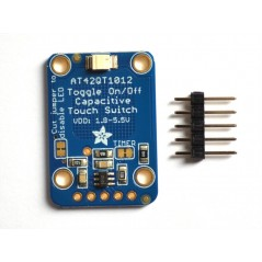 Standalone Toggle Capacitive Touch Sensor Breakout  AT42QT1012 (Adafruit 1375)