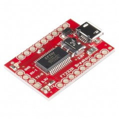 SparkFun USB to Serial Breakout - FT232RL (Sparkfun BOB-12731)