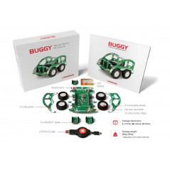 MIKROE-1831 Buggy + clicker 2 for FT90x + Bluetooth click