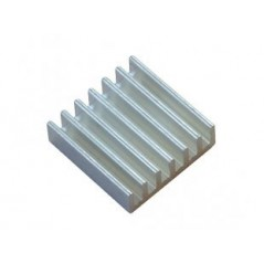 ALUMINIUM-HEATSINK-20x20x6MM (Olimex) ALUMINUM HEATSINK RADIATOR FOR A20 AND A10 IC