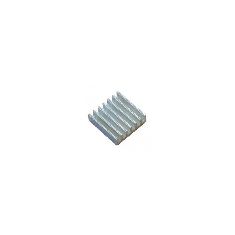 ALUMINIUM-HEATSINK-20x20x6MM (Olimex) ALUMINUM HEATSINK RADIATOR FOR A20 AND A10 IC