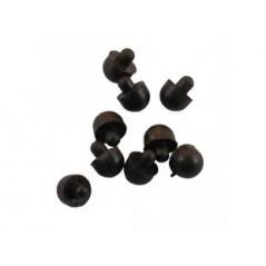 RUBBER-FEETS-B (Olimex) BLACK RUBBER FEETS (10 PCS)