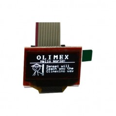 MOD-OLED-128x64 (Olimex) I2C, UEXT connector, 21x11mm