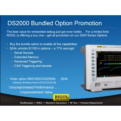 BND-MSO/DS2000A (Rigol) option bundle including MEM-DS2000, AT-DS2000, SD-DS2000, CAN-DS2000