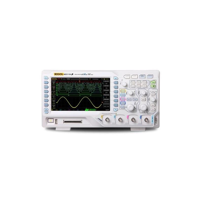 "DS1074Z Plus (Rigol) 4x70MHz, 1GSa/s, 12Mpts, 30.000wfms/s, 7'' WVGA 800x480, ""UltraVision"" technology"