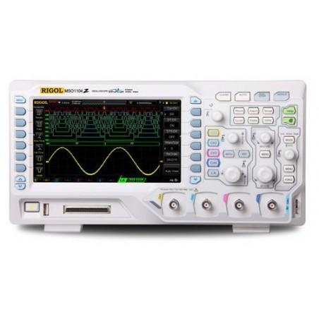 DS1104Z-S Plus (Rigol) 4x100MHz, 1GSa/s, 12Mpts, 30.000wfms/s, 7'' WVGA 800x480, 2x25MHz Generator