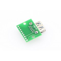 USB 3.0 Type-A Female Connector Breakout Board (ER-PPB8009U3D)