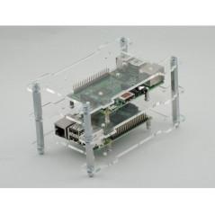 Multi-Pi Stackable Raspberry Pi Case (MM-MMP-0034)